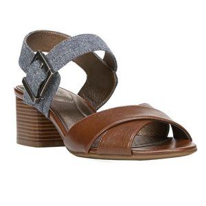 Life Stride Rache soft system block heel sandals